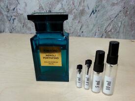 Tom Ford - Neroli Portofino fragrance samples and decants - HelloScents