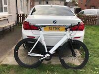 Very Rare - ALPINE WHITE - NO LOGO - Single speed bike - 1 OF A KIND not carrera
