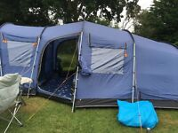 Vango Maritsa 700 with footprint and carpet in Blue