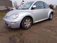 Volkswagen Beetle 2002 1.6 Hatchback 3dr Automatic SPARE OR REPAIR