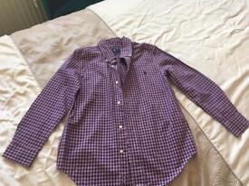 Boys Ralph Lauren shirt age 6