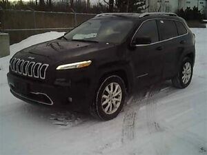 2014 Jeep Cherokee LIMITED AWD, V6 LEATHER, SUNROOF