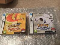 Pokemon Heart Gold and Soul Silver