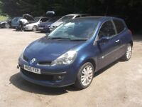 2006 RENUALT CLIO 1.4 S, MOT MAY 2019, 59,000 MILES, SPARES/REPAIRS - NON RUNNER