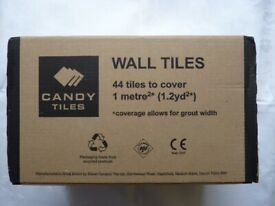 Candy Ceramic Kitchen-Bathroom Wall Tiles 148x148mm Flat White