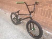 BMX bike, full custom build