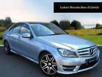 Mercedes-Benz C Class C220 CDI BLUEEFFICIENCY AMG SPORT PLUS (silver) 2013-10-30