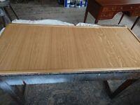 Polished oak boards various sizes