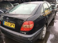 2003 TOYOTA AVENSIS GS D-4D (MANUAL DIESEL- FOR PARTS ONLY)