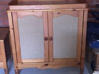 Mama and Pappas changing table cabinet and chest