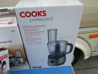 COOKS PROFESSIONAL 300w food processor