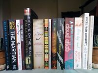 Variety of Books (mostly fiction)