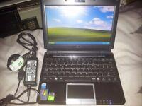ASUS LAPTOP NETBOOK 8.9'' LCD SCREEN, 12GB SSD, WIN XP PRO, WIFI, WEBCAM,BLUETOOTH,