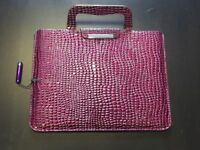 *SALE* IPad/ Tablet Case- Purple with stylus.