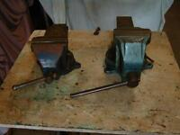 "4"" Swivel Mechanic vise with anvil"