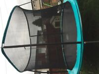 12ft Trampoline safety enclosure net 5 month old