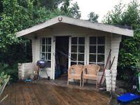 Summerhouse, Garden Office, Shed - Log cabin chalet style