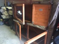 Two Storey Rabbit Hutch for Sale York