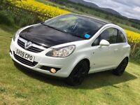 Vauxhall Corsa 1.2 16v Sxi - Glacier White/ Black Combo ***Ideal Beginners Car***