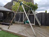 Plumb Uakari Wooden Swing Set