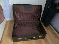 Antler suitcase, black suitcase, larger Antler one.