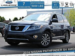 2014 Nissan Pathfinder SL**AWD*7 PLACES*CUIR*CAMERA*TOIT*CRUISE*