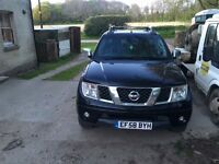 Nissan navara outlaw 58 plate (2009) low mileage