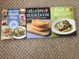 3 x Mini Cookbooks