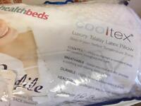 Cooltex luxury latex pillow