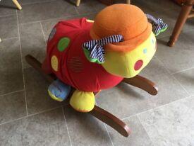 Mamas papa ladybird rocker