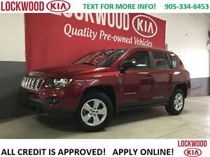2014 Jeep Compass Sport - ONE OWNER TRADE IN