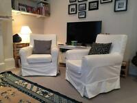 Ikea - 2 armchairs Jennylund - Negotiable price