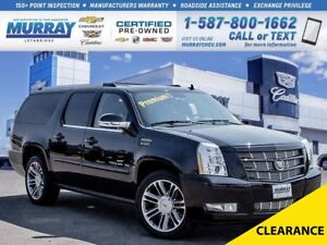 2013 Cadillac Escalade ESV **Sunroof!  Navigation!**