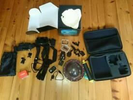 Go pro hero 4 bundle/accessories