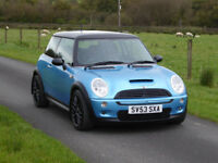 2003 '53' Mini Cooper S *Long MOT* *Credit/Debit Cards Accepted*