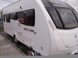 2013 Sterling Eccles Solitaire 4 Berth Caravan