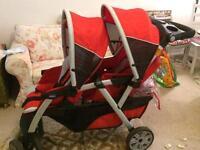 Chicco double/tandem buggy