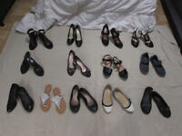 Women's Used Shoes Selection