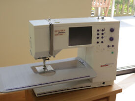 Bernina Artista 170 sewing machine Quilters Edition in good condition