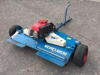 Wessex AR150 mower with 13.00 Honda engine