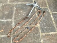 ANCHOR 4kg folding anchor + chain