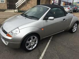 Ford ka sport convertible 1.6 low mil 52k full service history