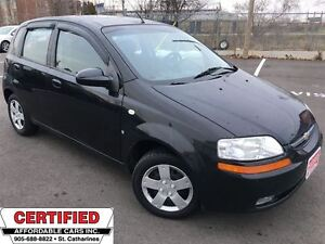 2008 Chevrolet Aveo LT ** SUNROOF, CRUISE, AUX. INPUT **