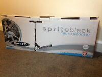 Sprite Micro Scooter Black