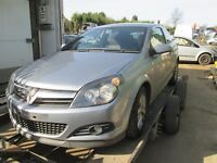 VAUXHALL ASTRA FACE LIFT 2008 3 DOOR COUPE 1.4 PETROL ENGINE BUMPER GEARBOX BREAKING PARTS
