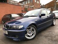 2004 BMW 318D 2.0 SPORT 4DR SALOON, LONG MOT!