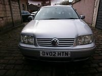 VW BORA TDI silver low mileage 113k 11 months mot 130bhp 6 speed