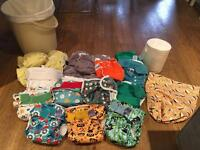 Reusable Nappy Starter kit - includes 19 nappies and much more