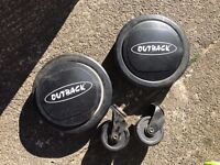 Outback bbq wheels