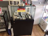Retail Display Glass Cabinet with Lock
